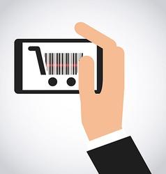 Commerce online vector