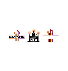 empire template set vector image