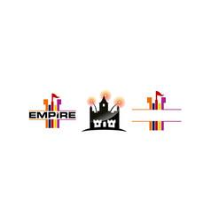 Empire template set vector