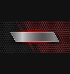 modern banner background vector image