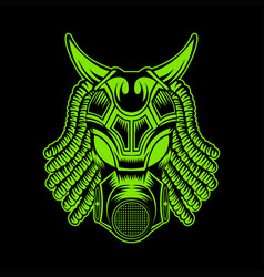 monster mask vector image