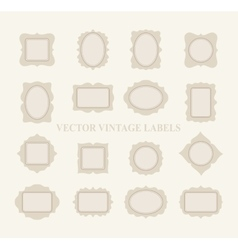 Pastel Frame Set vector