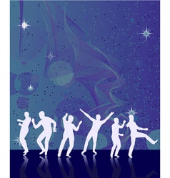 dance disco vector image