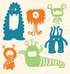 Cartoon Monsters vector image