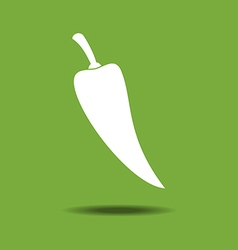 Jalapeno Vegetable Icon vector image