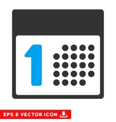 First Day Eps Icon vector