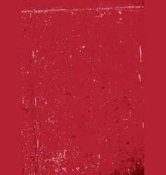red grunge background blank aged red paper vector image