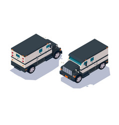 set collection collector american car for vector image