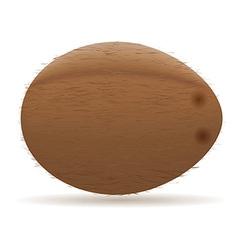 coconut 01 vector image vector image
