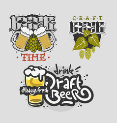 Beer brew brewery alcohol related vector