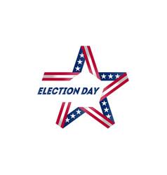 election voting poster start political vector image
