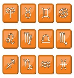 Horoscope icon sign vector image