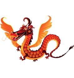 mythical dragon symbol 2012 vector image