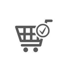 order icon on white background vector image