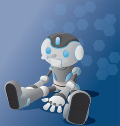 Robot boy vector