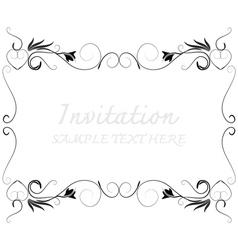 Invitation368 vector image