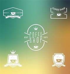 Set of coffee shop 2 vector image