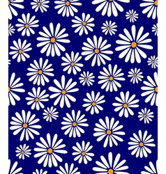 Doris Day Flower on Lapis vector image