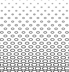 Abstract monochrome ellipse pattern background vector
