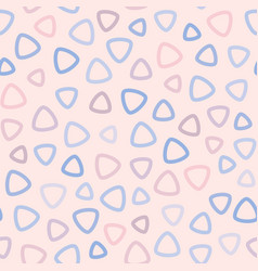 Abstract seamless pattern for girls and boys pink vector