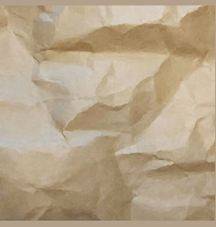 brown cardboard texture vector image