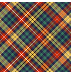 Colors check plaid seamless pattern vector image