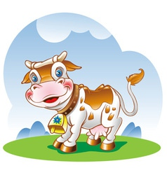 Dairy cow vector
