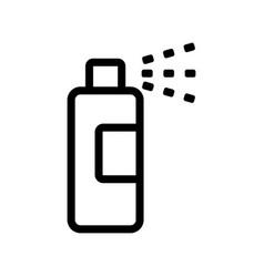 Deodorant icon isolated contour symbol vector