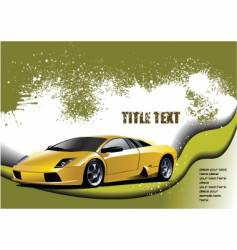 fast cars vector image