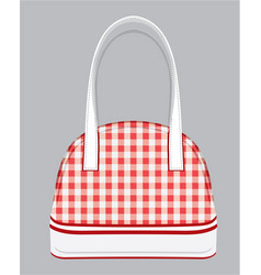 purse vector image