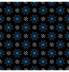 Seamless christmas dark pattern vector