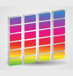 Simple eq equalizer graphics for multimedia audio vector