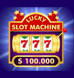 slot machine 1d vector image