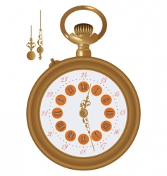 old watch vector image vector image