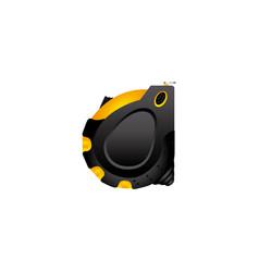 color measuring tape close icon vector image