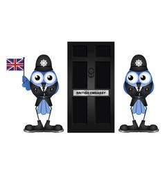 British Embassy vector