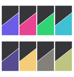 color-paper-background vector image