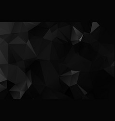 dark polygonal which consist of triangles vector image