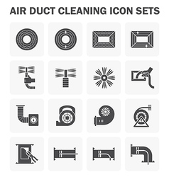Duct pipe cleaning vector