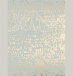 Elegant pastel green gold chic marble grunge vector