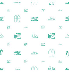 Flop icons pattern seamless white background vector