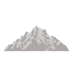 mountain peak nature high image vector image