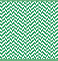 seamless black and green herringbone pattern vector image