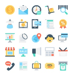 Shopping and E-Commerce Icons 2 vector