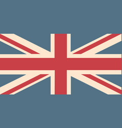 uk flag background vector image