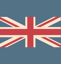 Uk flag background vector