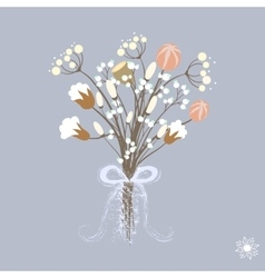 beautiful decoration with vector image vector image