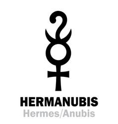 Astrology hermanubis hermes anubis vector