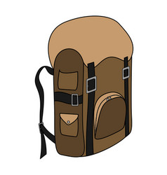 backpack-3-1 vector image
