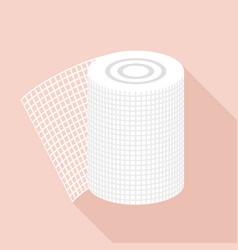 Bandage icon flat style vector